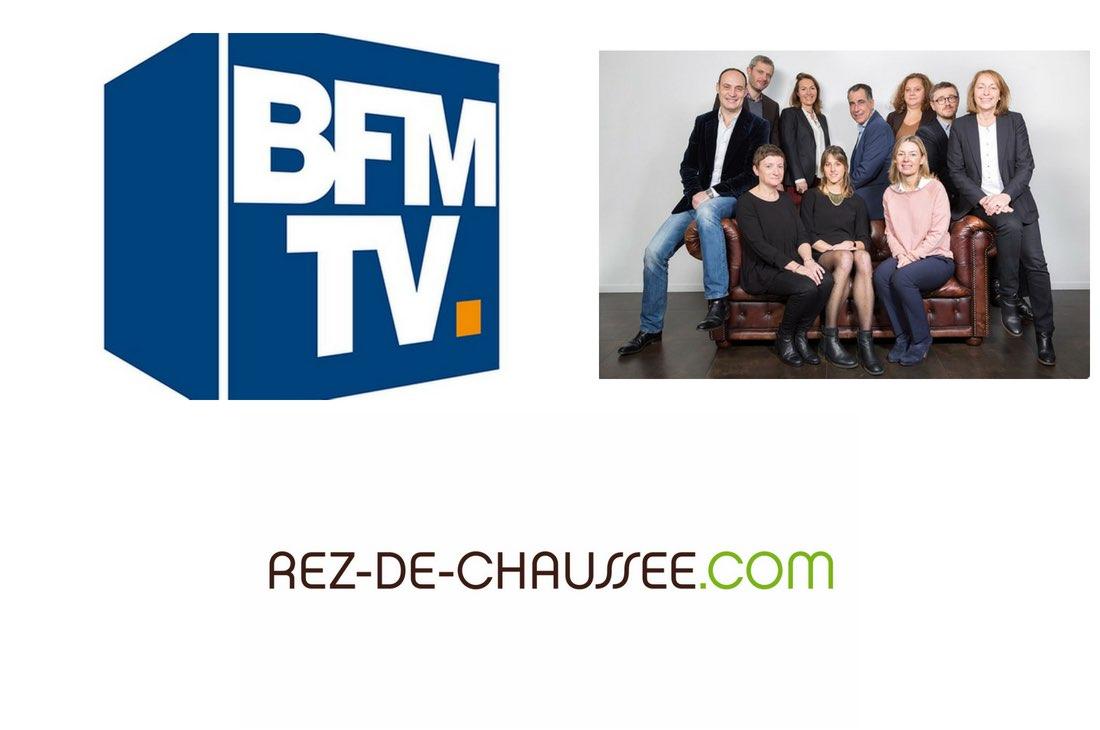 """BFM TV : Rez-de-chaussee.com """"Ancienne boulangerie transformée en boutique"""""""