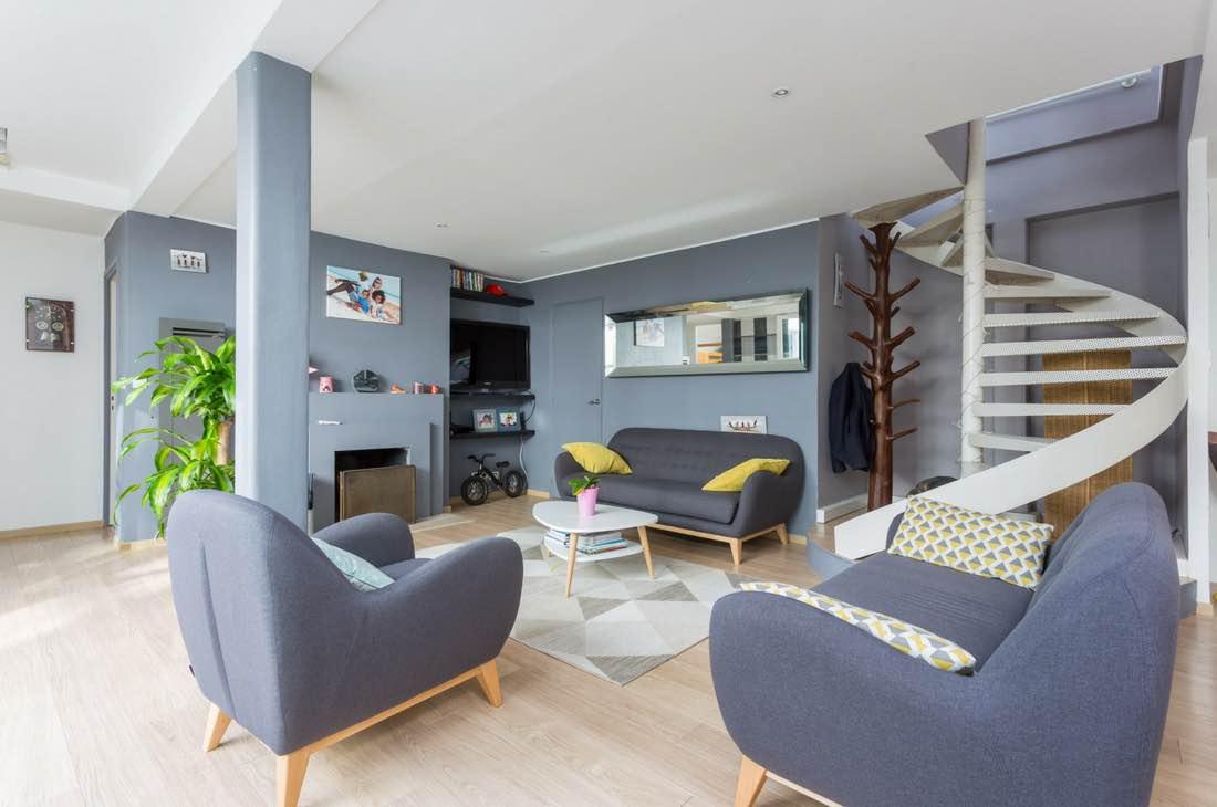 Superbe duplex à Paris