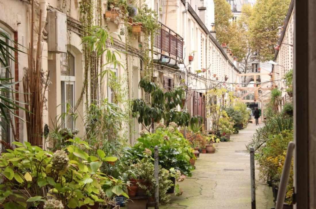 La Cité Pilleux, un village dans Paris