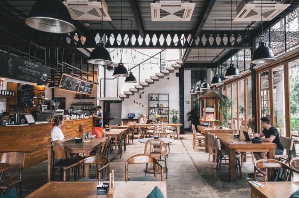 Voici l'image d'un restaurant sans extraction à Paris
